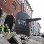 Ein U-Boot in der Stadt