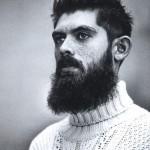 freckles beard male model