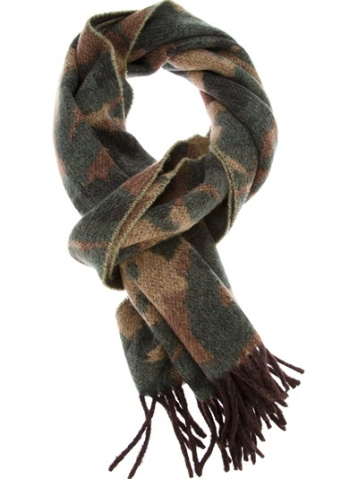 Die schönsten Schals für Winter 2013 – Ralph Lauren Camouflage Scarf (+English version)