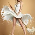 Spektakulärste Fotoshootings – Milchshooting