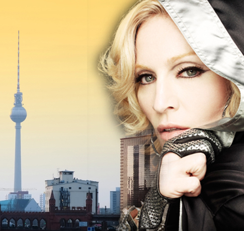 Madonna eröffnet Fitness Club Hard Candy in Berlin